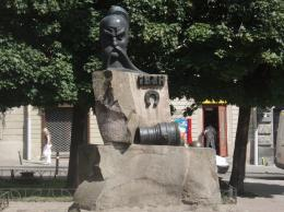 The monument to Ivan Podkova