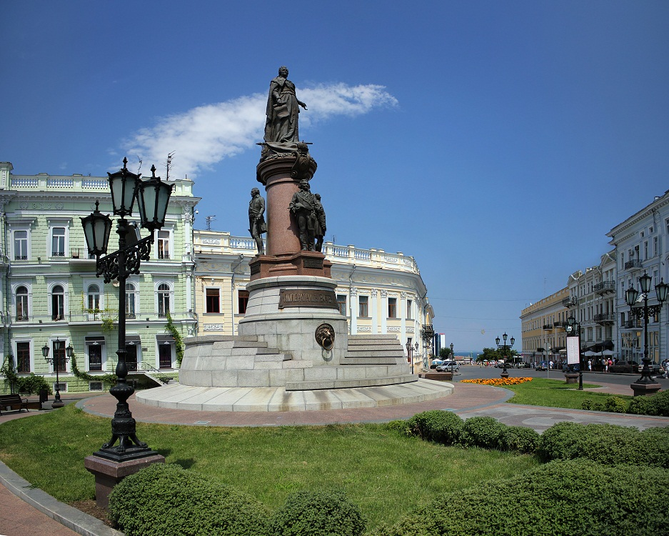 The monument to Ekaterina II - Photo 3