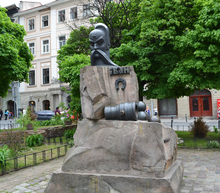 The monument to Ivan Podkova - Photo 3